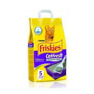 Туалетный наполнитель FRISKIES (для кошек, 5 кг)